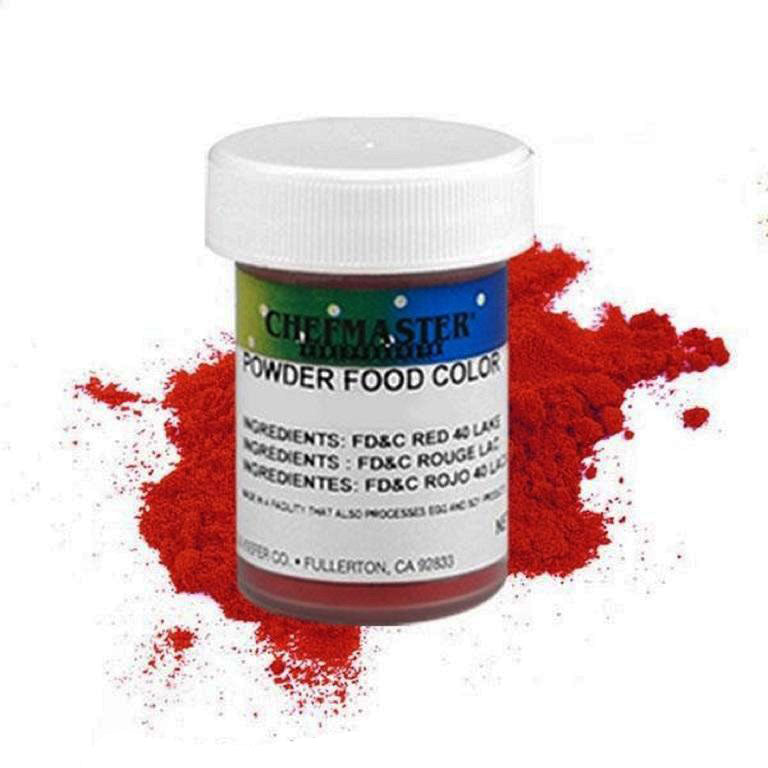 Color Chefmaster Powder Red 3g