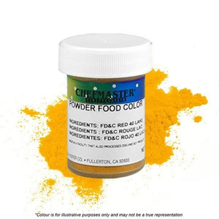 Color Chefmaster Powder Yellow 3g