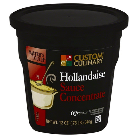 Base Custom Culinary Master's Touch Hollandaise Sauce Concentrate 12oz