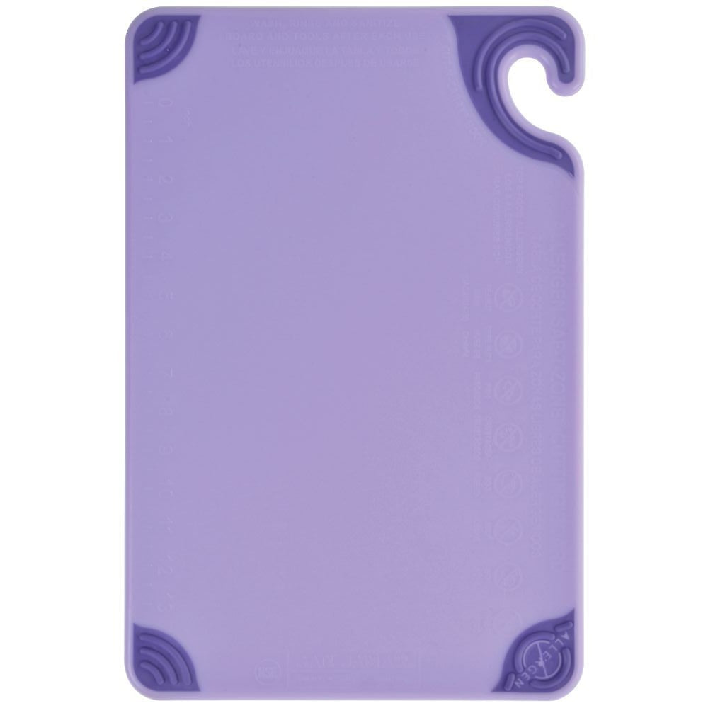Cutting Board w/Grip 12x18 Purple