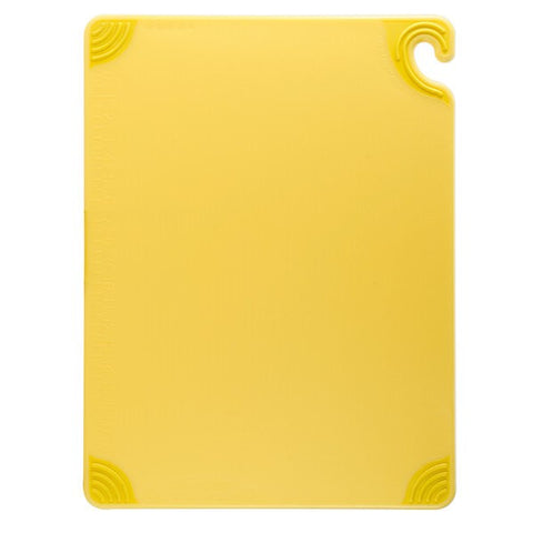 Cutting Board w/Grip 12x18 yellow