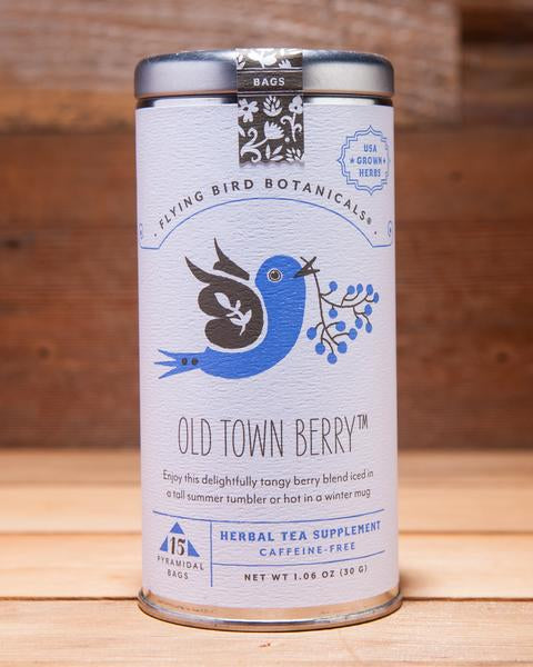 Tea Flying Bird, Old Town Berry