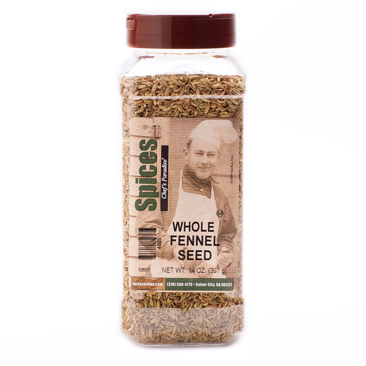 Fennel Seed Whole 14oz