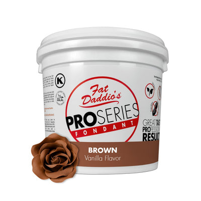 Fat Daddios Fondant Brown 8oz