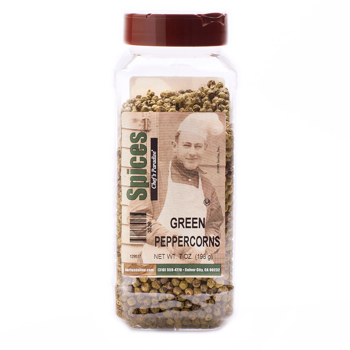Pepper Whole Green 7oz