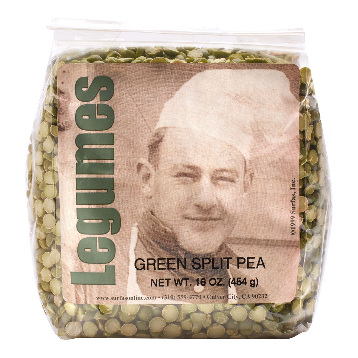 Pea Green Split 1lb