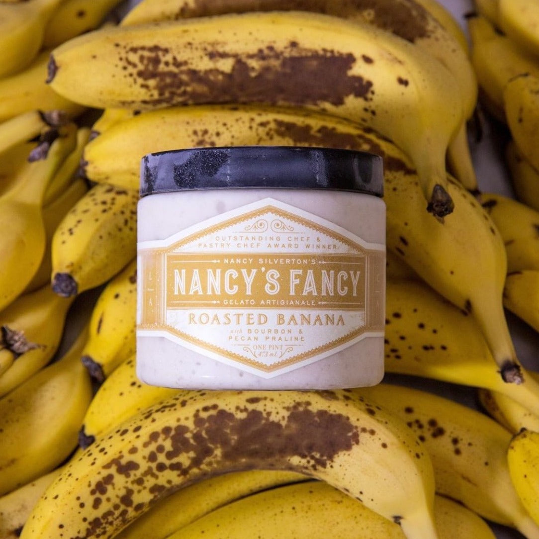 Nancys Roasted Banana Ice cream, Pint