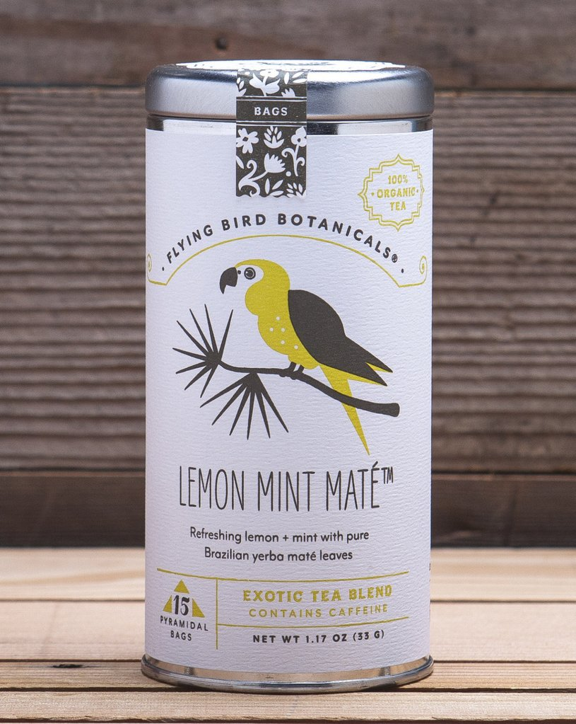 Tea Flying Bird Lemon-Mint Mate