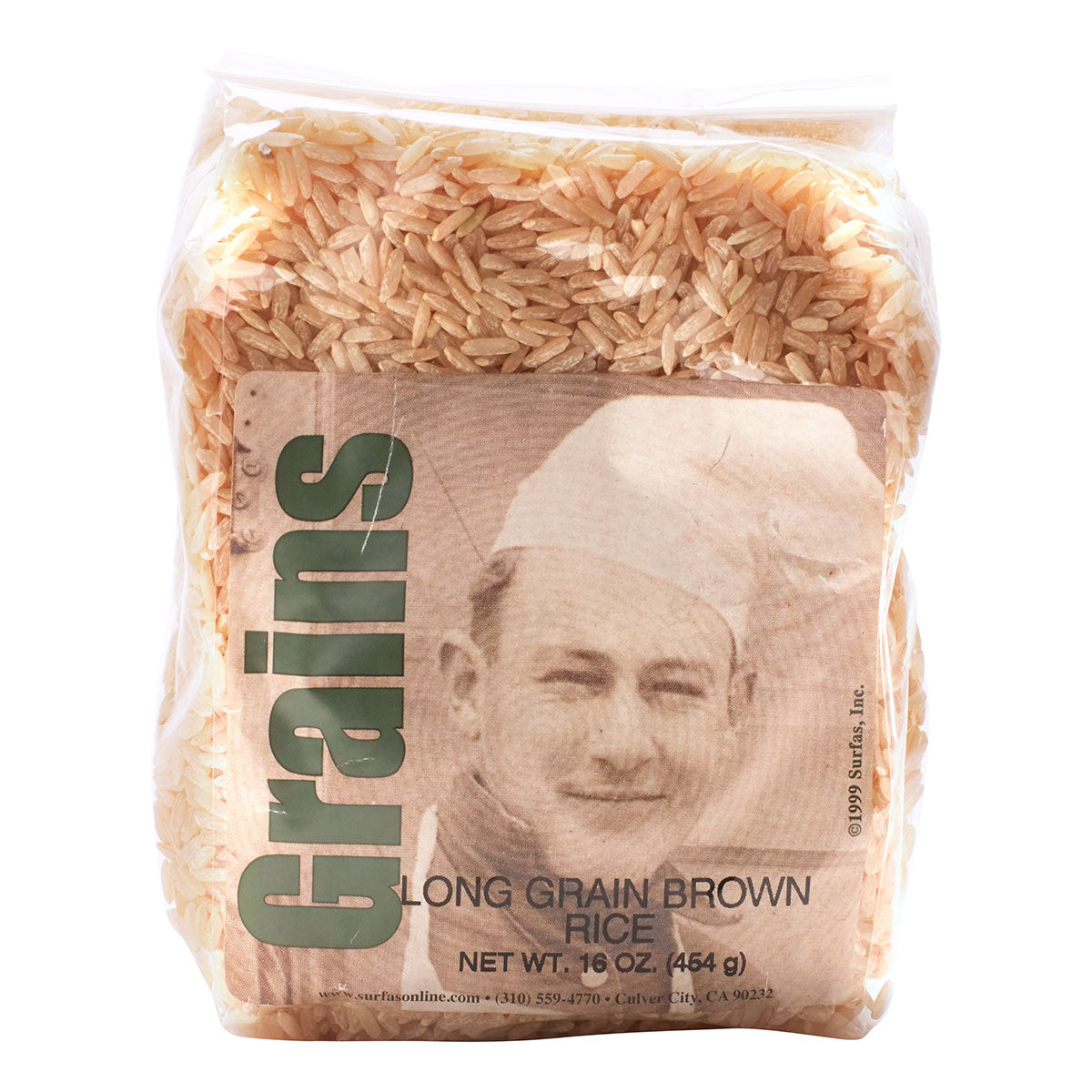 Rice Brown Long Grain 1lb