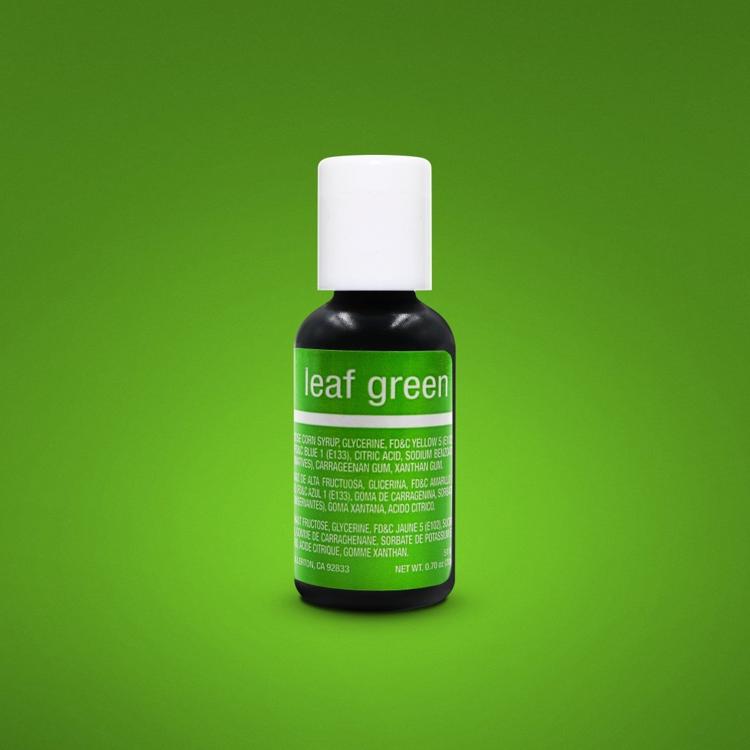 Color Chefmaster Gel Leaf Green 0.70oz