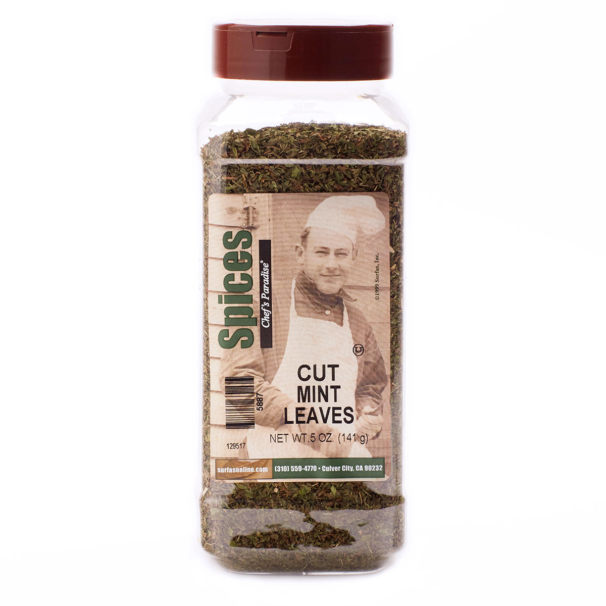 Mint Leaves Cut 5oz