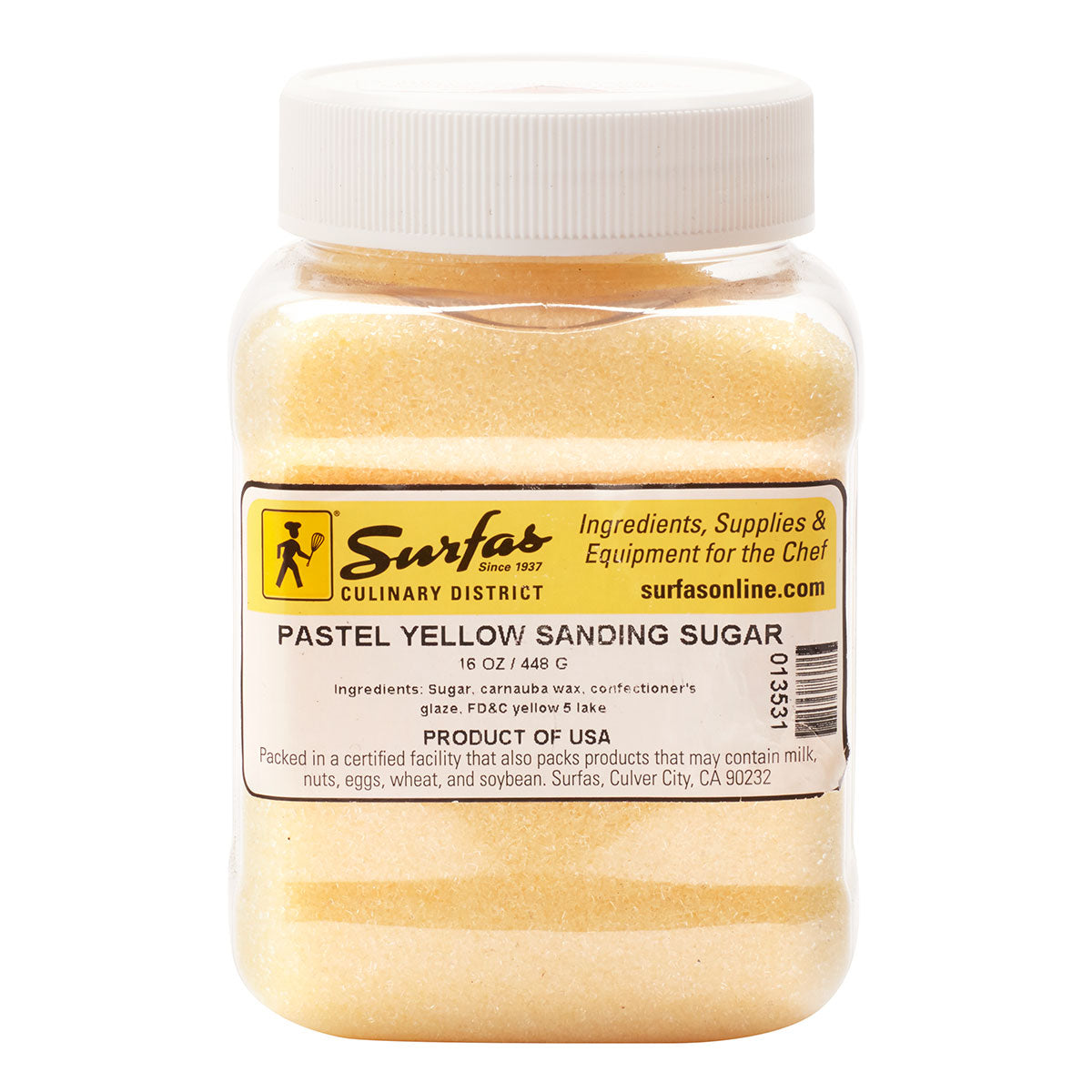 Sugar Sanding Pastel Yellow 1lb