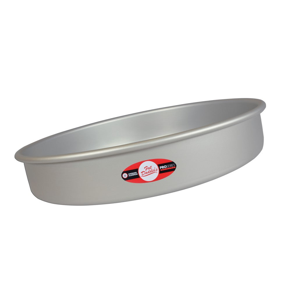 Cake Pan 14x3 Fixed Bottom