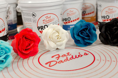 Fat Daddios Fondant Blue 8o