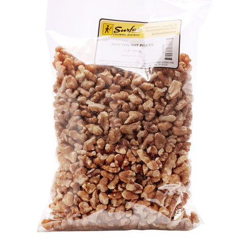 Walnut Pieces Raw 1lb