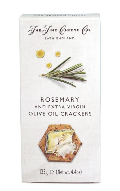 "Cracker ""The Fine Cheese Co"" Rosemary 4.4oz"