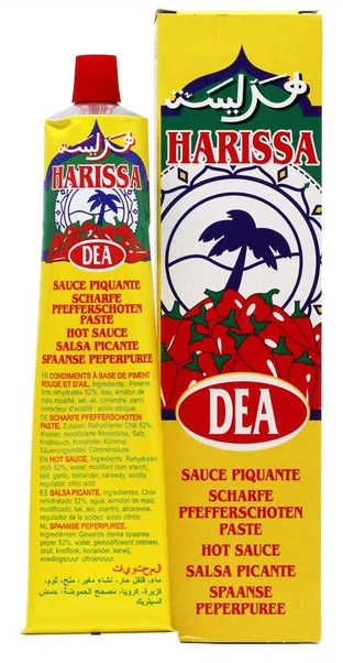 Paste DEA Harissa Tube 120g
