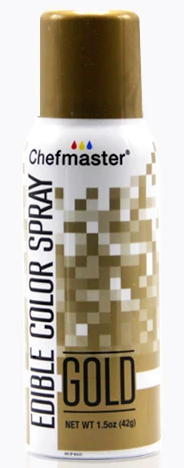 Color Chefmaster Edible Spray Gold