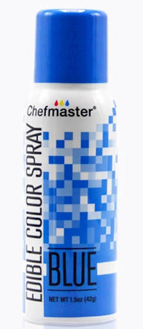 Color Chefmaster Edible Spray Blue