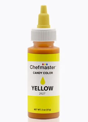 Color  Chefmaster Candy Yellow 2oz