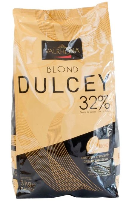 Valrhona Feves 32% Dulcey 3kg