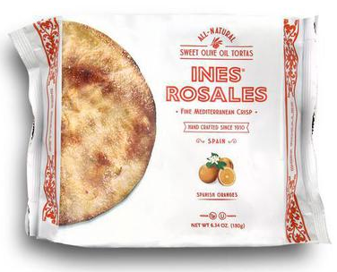 Cracker Ines Torta Orange Sweet 6.34oz