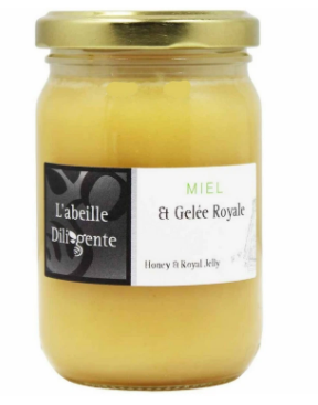 Honey Abeille W Royal Jelly 220g