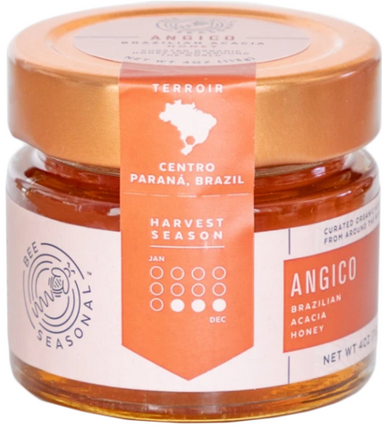 Honey Bee Seasonal Angico 4oz