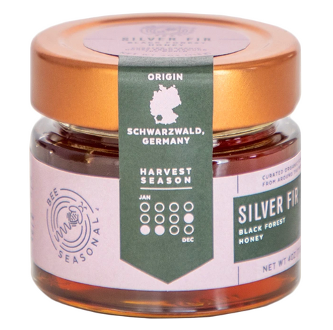 Honey Bee Seasonal Silver Fir 4oz
