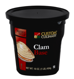 Base Custom Culinary Gold Label Clam 1lbs