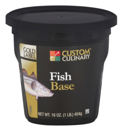 Base Custom Culinary Gold Label Fish 1lbs