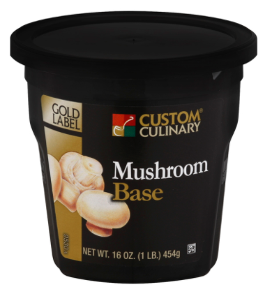 Base Custom Culinary Gold Label Mushroom 1lbs