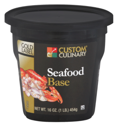 Base Custom Culinary Gold Label Seafood 1lbs