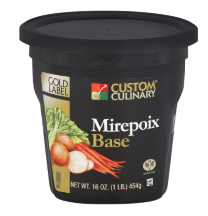 Base Custom Culinary Gold Label Mirepoix 1lbs