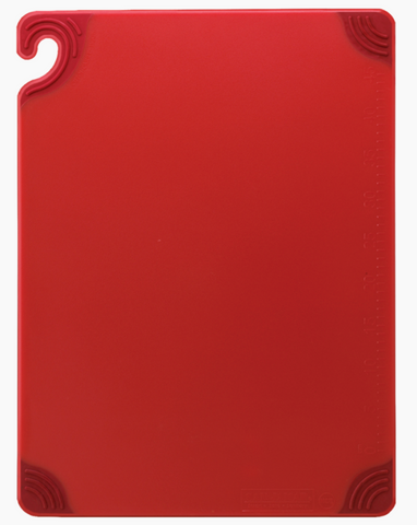 Cutting Board w/Grip 12x18 Red