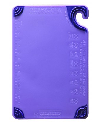 Cutting Board w/Grip 6x9 Allergen Purple