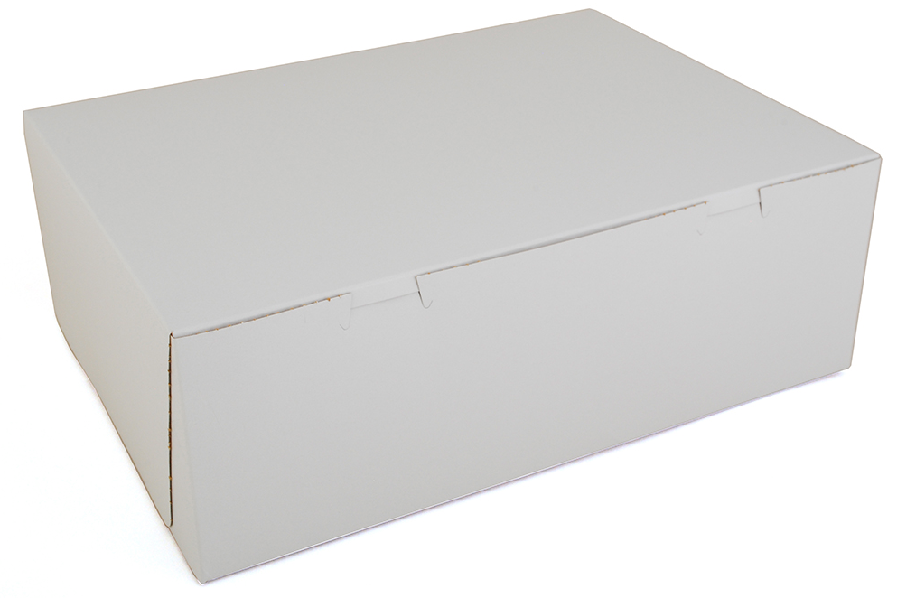 Box Bakery White 14x10x5