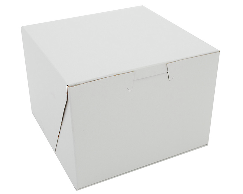 Box Bakery White 5.5x5.5x4