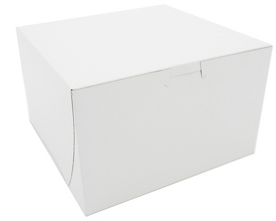 Box Bakery White 8x8x5