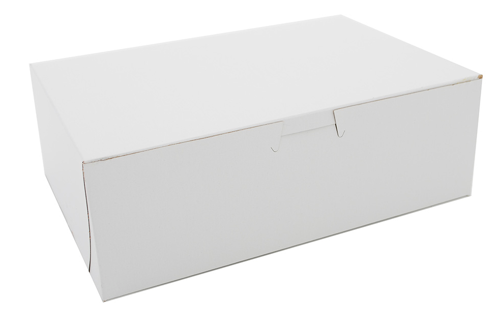 Box Bakery White 9x6x3.5