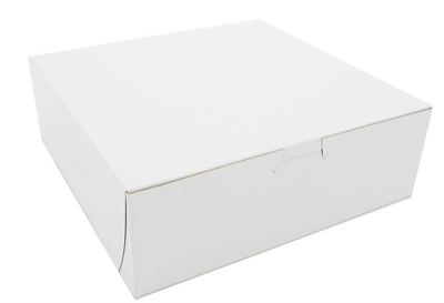 Box Bakery White 9x9x3