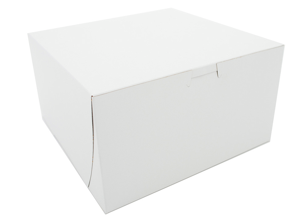 Box Bakery White 9x9x5