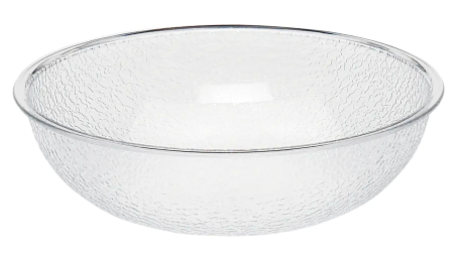 Bowl Plastic Pebbled 15in