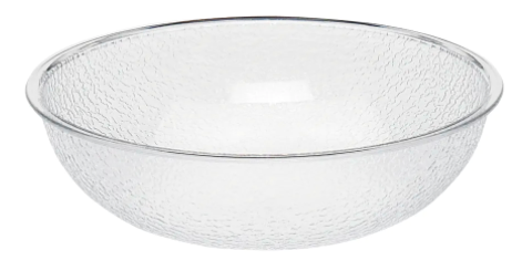 Bowl Plastic Pebbled 10in