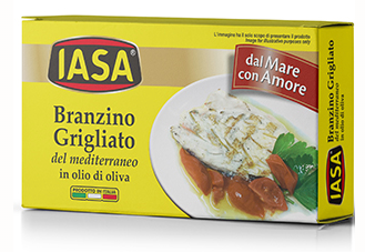 Fish Iasa Branzino in Oil 5.1oz
