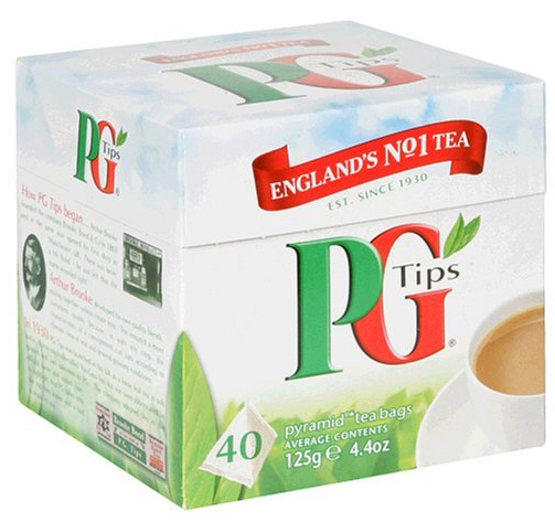 Tea PG Tips Pyramid Bags 40ct