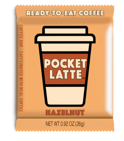 Candy Pocket Latte Hazelnut 26g