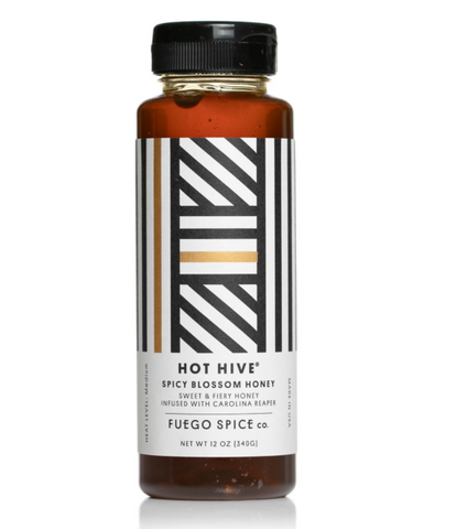 Fuego Hot Hive Honey  12oz