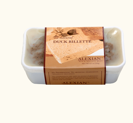 Pate Alexian Duck Rillette 6.5oz