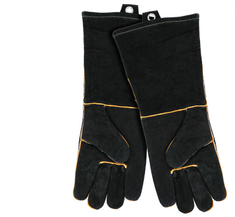 GRILL GLOVES LEATHER PR